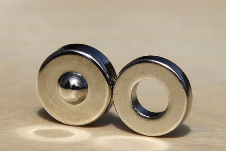 Mágnes és gyűrű