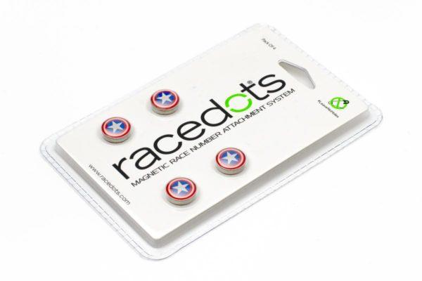 CAPTAIN AMERICA – 4 darab RaceDots rajtszámtartó mágnes