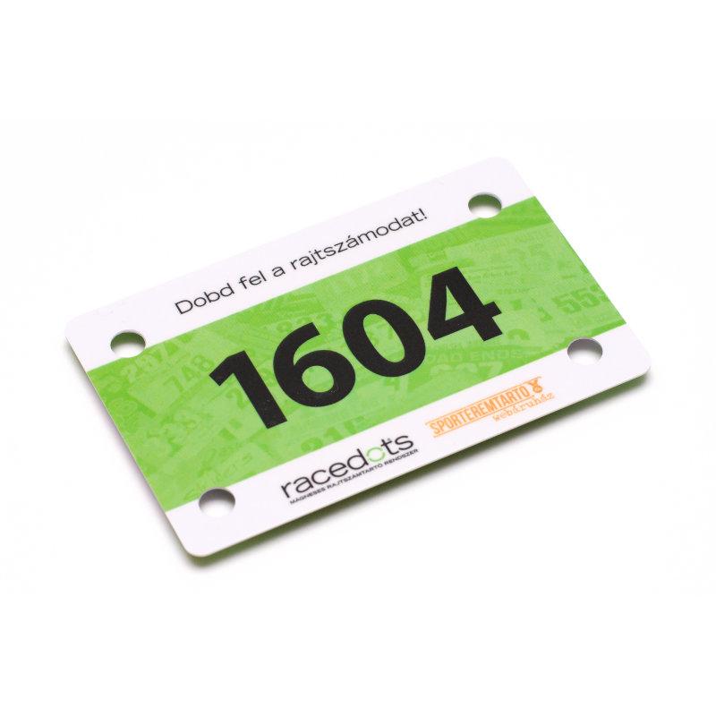 RaceDots mágnestartó kártya