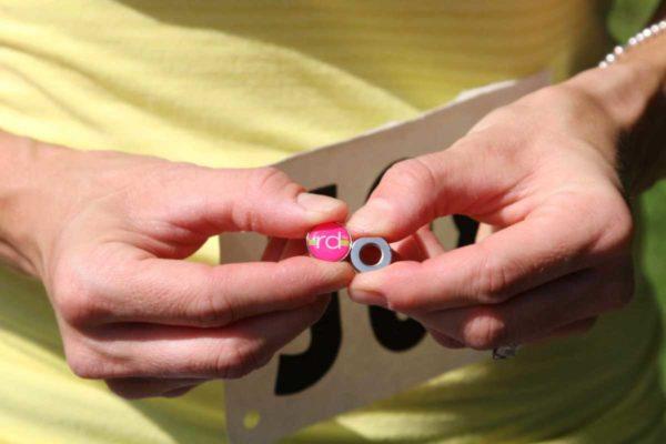 RaceDots mágnes és gyűrű