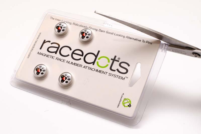 RaceDots csomag felbontása
