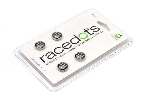 POLKA DOTS – 4 darab RaceDots rajtszámtartó mágnes